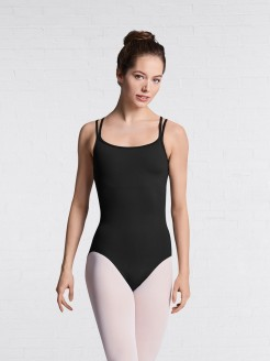 Bloch Mesh Scoop Cross Back Cami Leotard