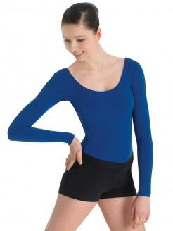 Bloch Arabesque V Front Shorts Black - Main