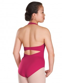 Bloch Cinnamon Ladies Halterneck Twist Front Leotard - Main
