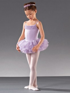 Bloch Desdemona Girls Tutu Leotard - Main