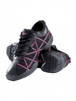 Capezio Hot Pink Web Dance Sneakers - Main