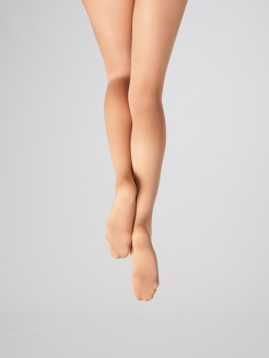 Capezio Ultra Soft Footed Tights - Adult - Light Suntan