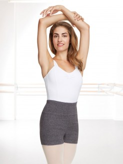 Capezio High Waisted Knitted Shorts