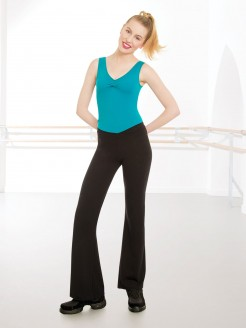 1st Position Value V Front Jazz Pants Cotton