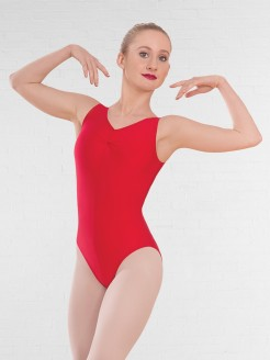 1st Position Value Ruched Front Leotard