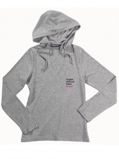 ENBS Lightweight Hooded T Shirt Grey - Main