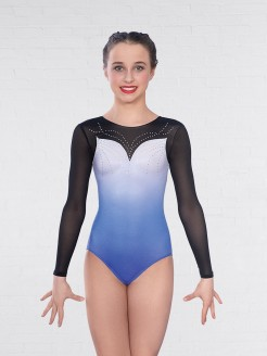 1st Position Clara Mesh Long Sleeved Leotard