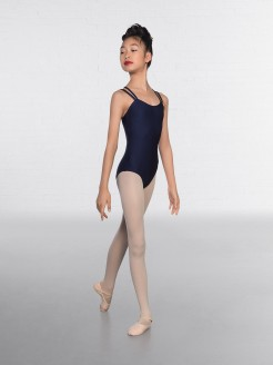 IDTA Double Strapped Nylon Leotard