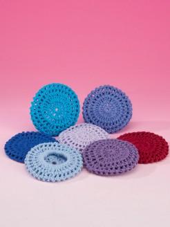 Katz Cotton Crochet Bun Net Large - Lilac