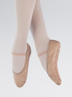 1st Position Leather Ballet Shoes