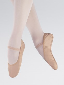 1st Position Premium Stretch Binding Leather Ballet Shoes