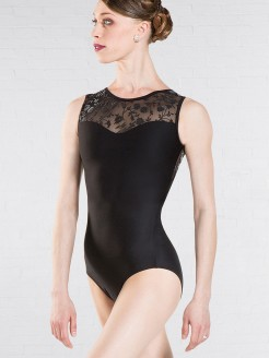 Wear Moi Majeste Lace Back Tank Leotard