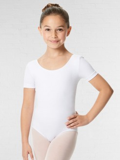 Lulli Short Sleeve Cotton Ballet Leotard Lauretta