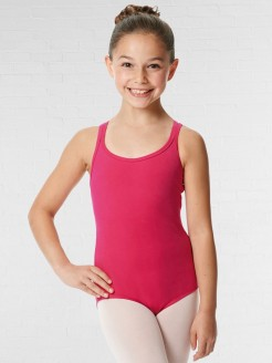 Lulli Double Strap Camisole Cotton Dance Leotard Yvette