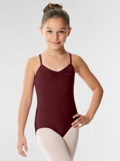 Lulli Camisole Crisscross Cotton Dance Leotard Nell