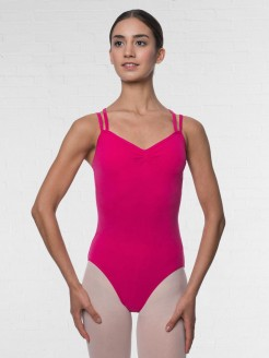 Lulli Camisole Crisscross Cotton Dance Leotard Lara