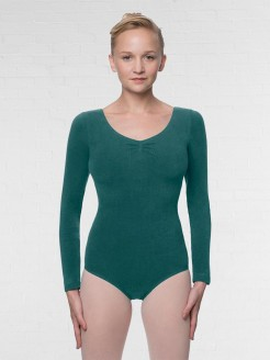 Lulli Long Sleeve Cotton Dance Leotard Miranda