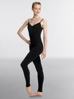 Lulli Brushed Cotton Low Back Long Dance Unitard Madelyn