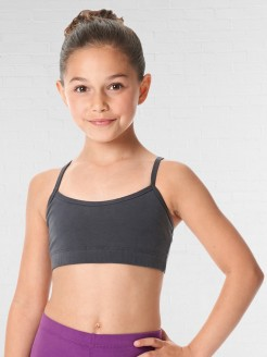 Lulli Brushed Cotton Camisole Dance Bra Top Evelin