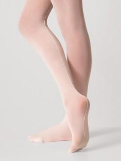 Mondor Ultra Soft Ballettstrumpfhose mit Saum - Rosa