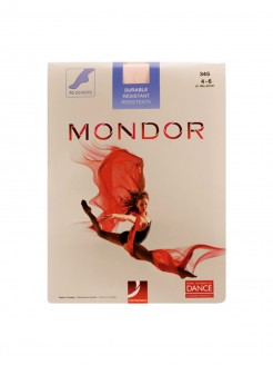 Mondor Nylon Seamless Tights - Ballet Pink - Main