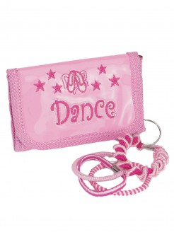 Pink Dance Purse Keyring - Main
