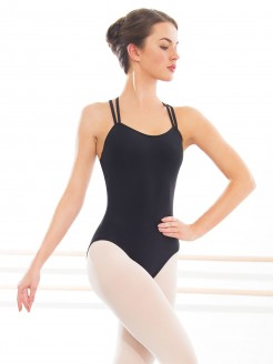 1st Position Ellie Double Strap Leotard (Matt Nylon)