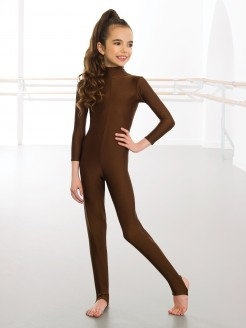1st Position Toni Long Sleeved Keyhole Back Catsuit