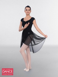 RAD Approved Semi Sheer Skirt with Wrapover Detail