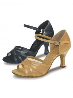 Roch Valley Aphrodite Ladies Ballroom Satin Shoe 2.75 inch Slim Flared Heel