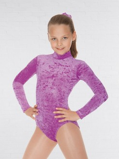 Roch Valley Jane Long Sleeved Velour Leotard