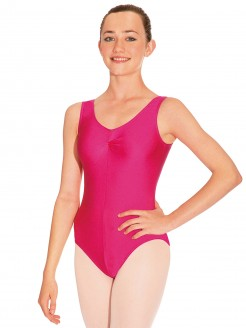 Roch Valley Sheree Sleeveless Ruched Leotard