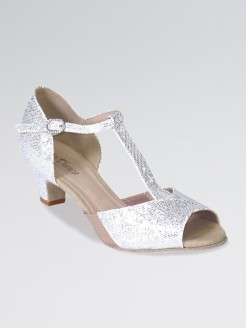 So Danca T-Strap Sparkle with 1.5 inch Heel