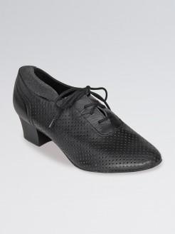 So Danca Leather Practice Shoe with 1.5 inch Heel