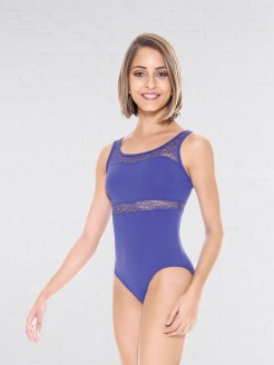 So Dance Ballet Turn Leotard with Floral Lace
