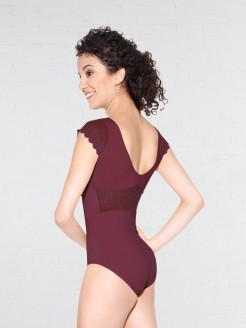 So Danca Light Scalloped Edge Lace Leotard