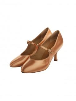 Supadance Round Toe Court Satin Shoe
