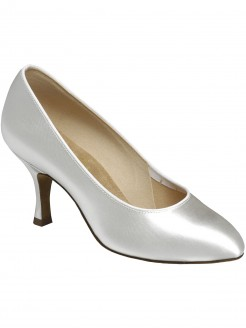 Supadance Round Toe Satin Court Shoe