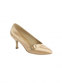 Supadance Pointed Toe Court Satin Shoe