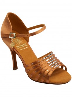 Supadance Multi Strap Satin Sandal