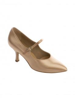 Supadance Satin Pointed Toe Court Shoe