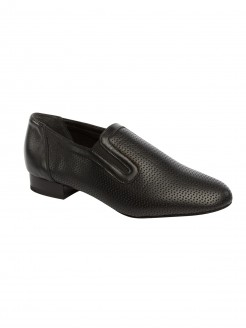 Supadance Perforated Leather Slip-on Teaching And Practice Shoe