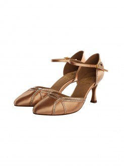 Supadance Satin Closed Toe Sandal