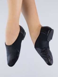 1st Position Split Sole Stretch Jazz Shoe