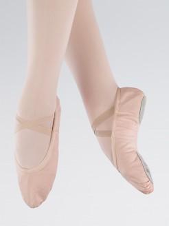 1st Position Pink Canvas Split Sole Ballet Shoes
