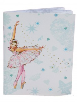 Swan Ballerina Soft Notebook - Main