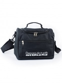 """Dancers do it with attitude!"" Black Vanity Case"