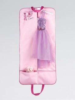 Kostüm-Hülle mit Ballettschuh-Motiv