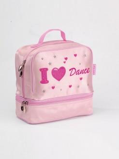 Katz I Heart Dance Satin Dance Bag