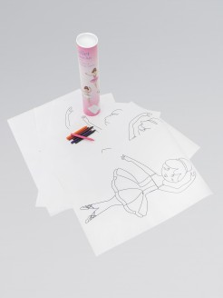 Ballerina Poster Art